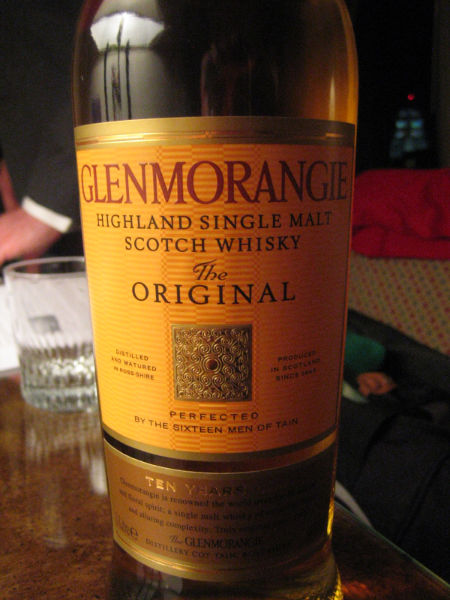 glenmorangie highland single malt scotch