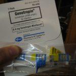 packaged syringe